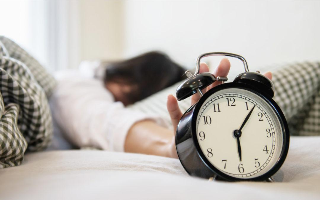 uitslapen of vroeg naar bed