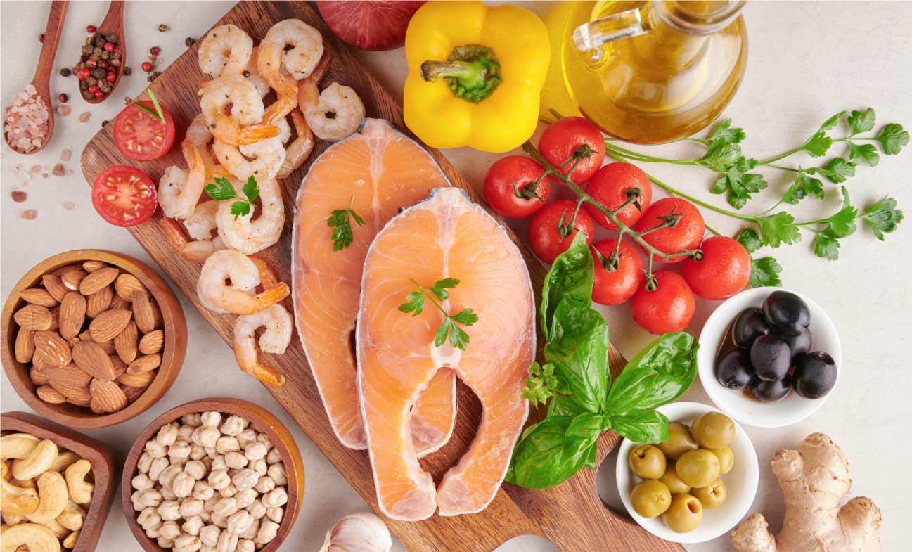 voeding hoog in polyfenolen en omega 3